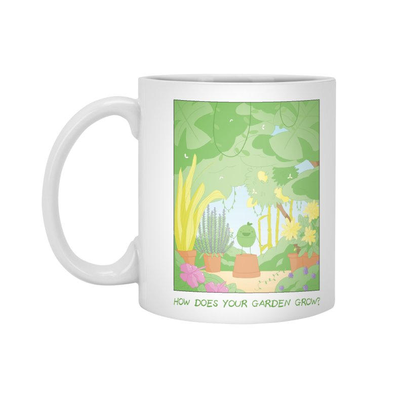 Companions - How Does Your Garden Grow? in Standard Mug White by Rachel Yelding | enchantedviolin
