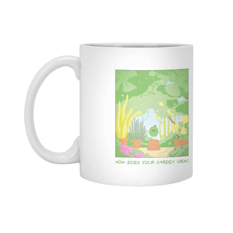 Companions - How Does Your Garden Grow? Accessories Mug by Rachel Yelding | enchantedviolin
