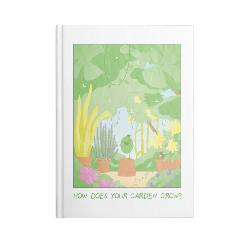 Companions - How Does Your Garden Grow? Accessories Lined Journal Notebook by Rachel Yelding | enchantedviolin