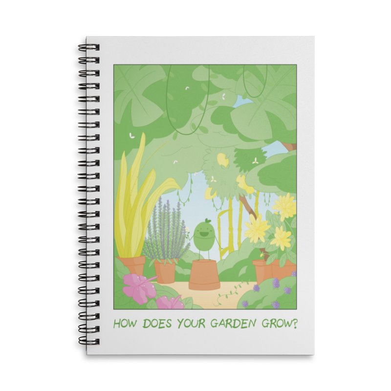 Companions - How Does Your Garden Grow? Accessories Lined Spiral Notebook by Rachel Yelding | enchantedviolin