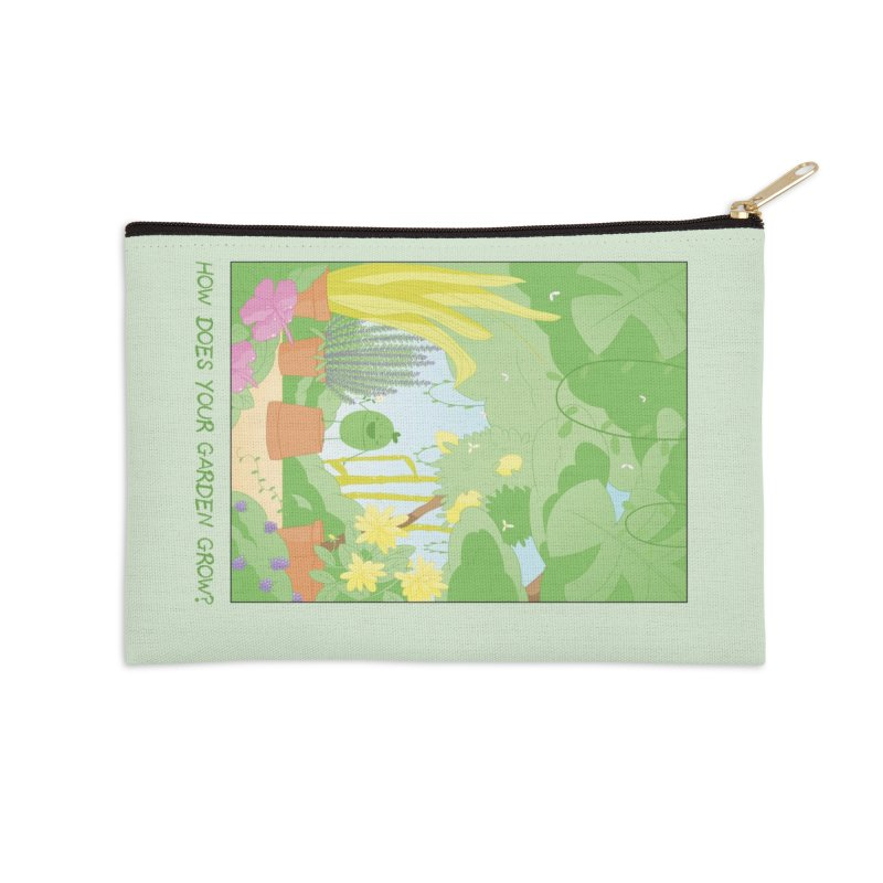 Companions - How Does Your Garden Grow? Accessories Zip Pouch by Rachel Yelding | enchantedviolin