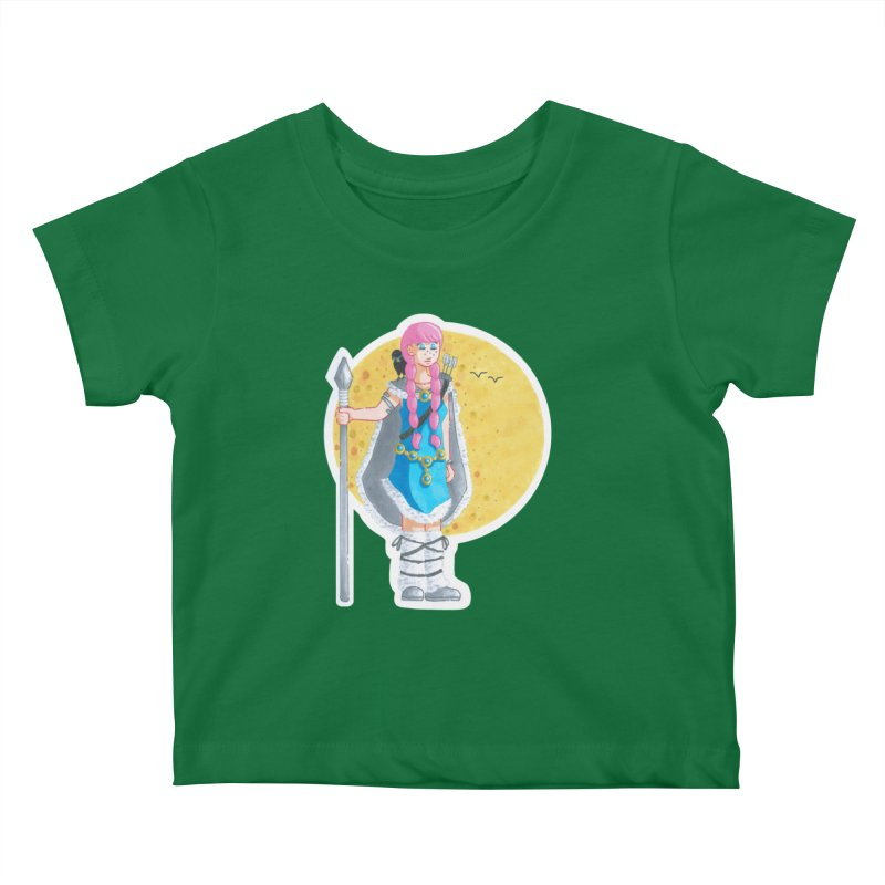 Companions - The Road to Valhalla Kids Baby T-Shirt by Rachel Yelding   enchantedviolin