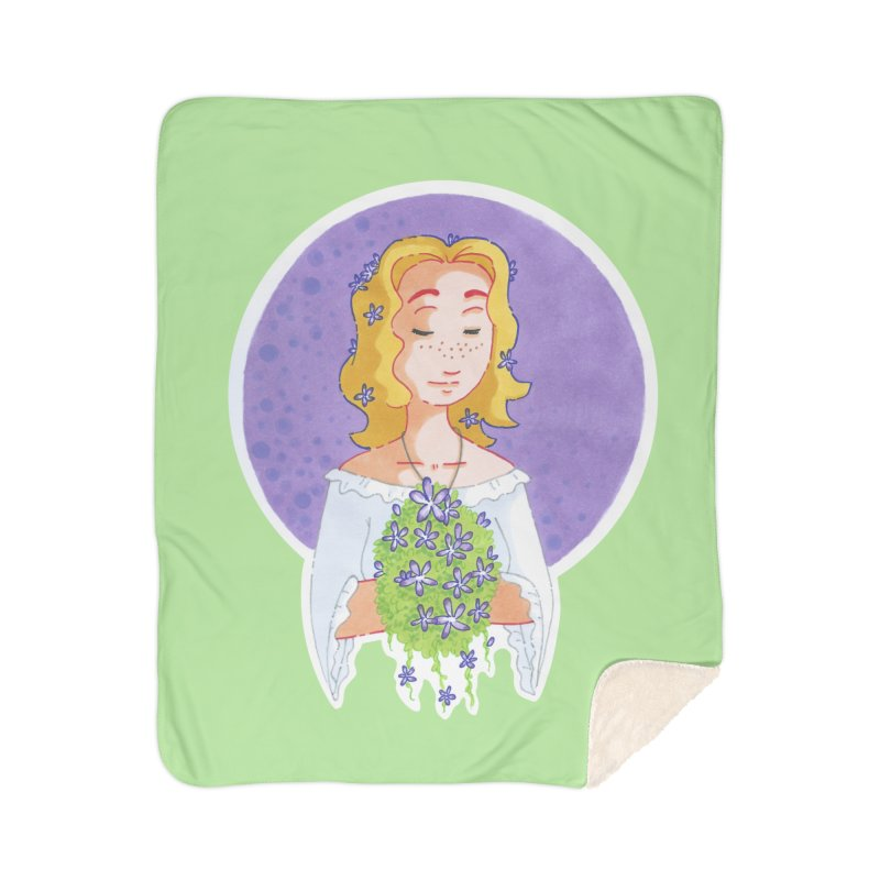 Companions - Forget-me-not Home Blanket by Rachel Yelding   enchantedviolin