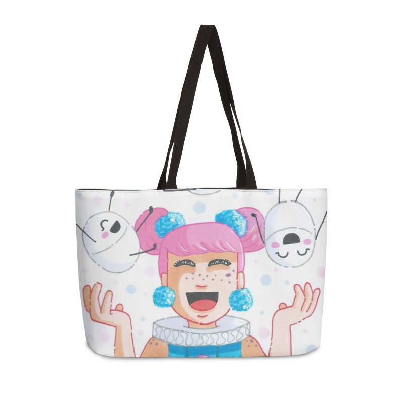 Companions - Funny Day Accessories Bag by Rachel Yelding | enchantedviolin