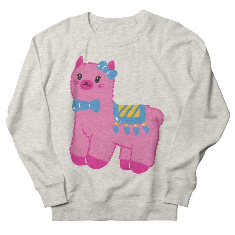 Darling Alpaca - No Text Women's French Terry Sweatshirt by Rachel Yelding | enchantedviolin