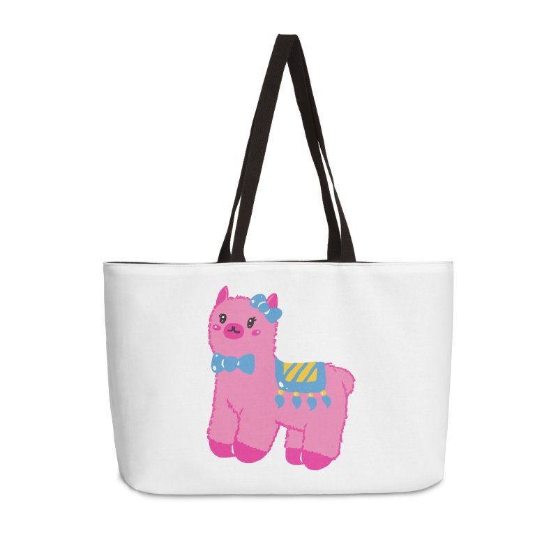 Darling Alpaca - No Text Accessories Weekender Bag Bag by Rachel Yelding | enchantedviolin