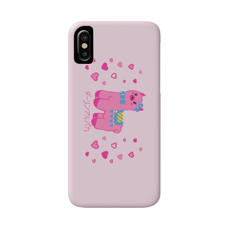 Darling Alpaca - Hearts Accessories Phone Case by Rachel Yelding | enchantedviolin
