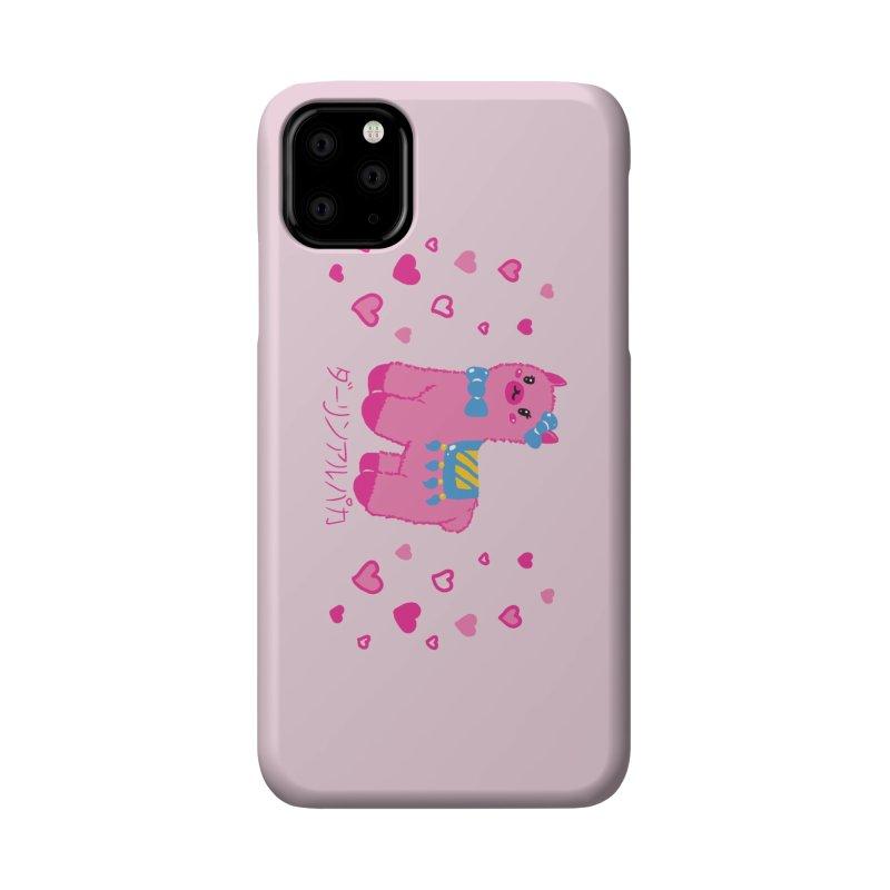 Darling Alpaca - Hearts Accessories Phone Case by Rachel Yelding | enchantedviolin