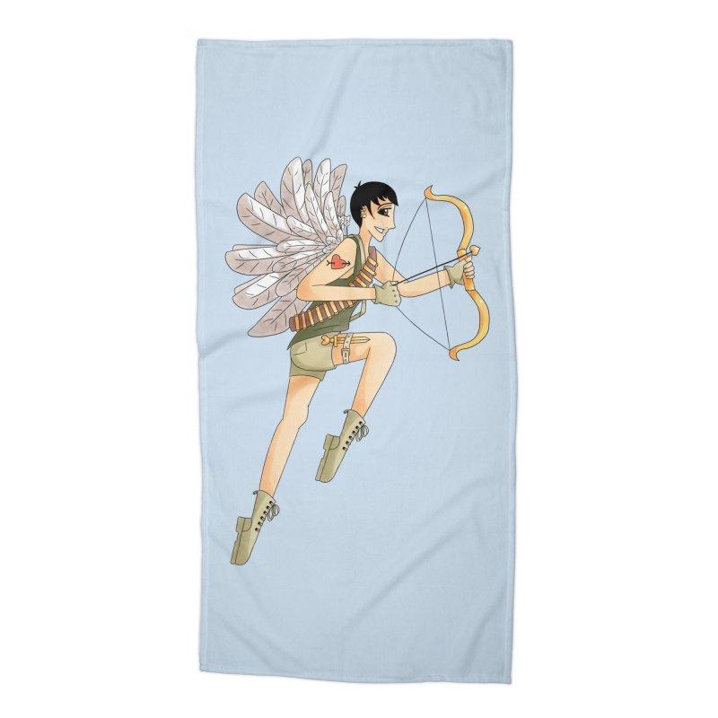 Soldier of Love Accessories Beach Towel by Rachel Yelding | enchantedviolin