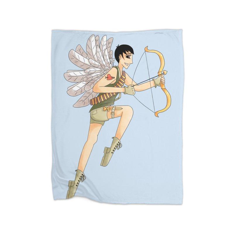 Soldier of Love Home Fleece Blanket Blanket by Rachel Yelding | enchantedviolin