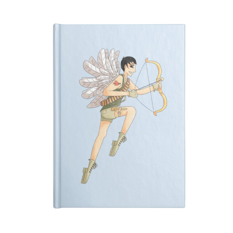 Soldier of Love Accessories Lined Journal Notebook by Rachel Yelding | enchantedviolin