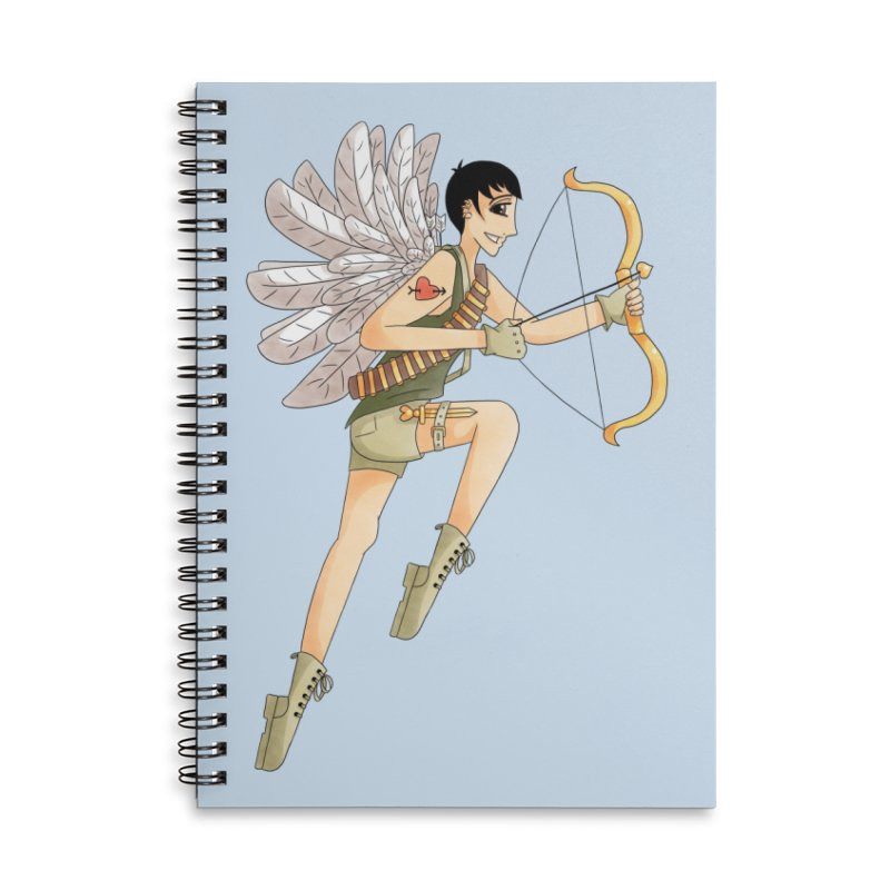 Soldier of Love Accessories Notebook by Rachel Yelding | enchantedviolin