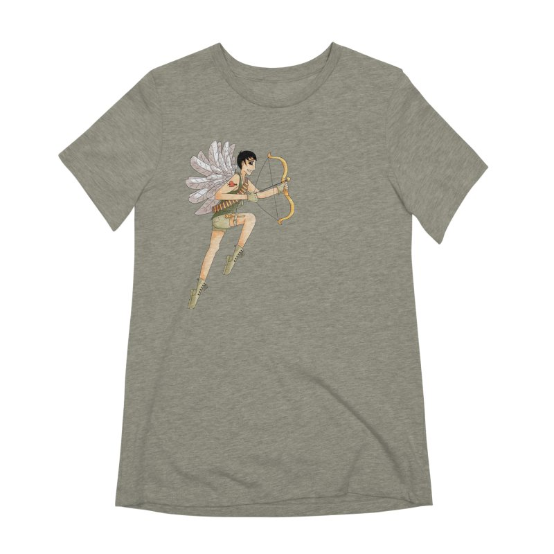 Soldier of Love Women's Extra Soft T-Shirt by Rachel Yelding | enchantedviolin