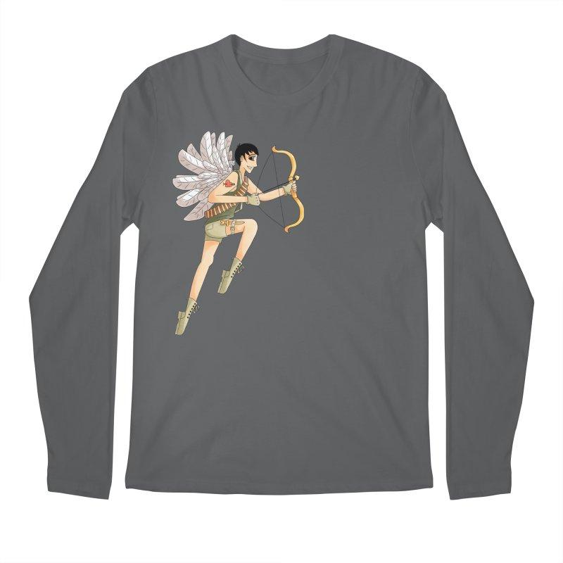 Soldier of Love Men's Regular Longsleeve T-Shirt by Rachel Yelding | enchantedviolin