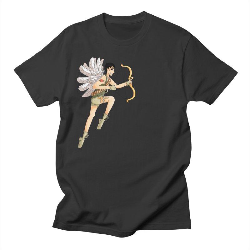 Soldier of Love Men's Regular T-Shirt by Rachel Yelding | enchantedviolin