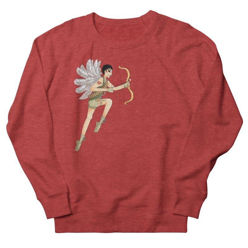 Soldier of Love Women's French Terry Sweatshirt by Rachel Yelding | enchantedviolin
