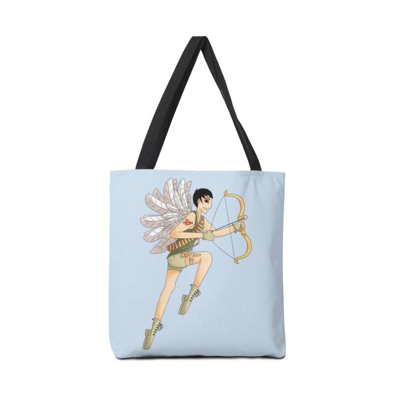 Soldier of Love Accessories Tote Bag Bag by Rachel Yelding | enchantedviolin