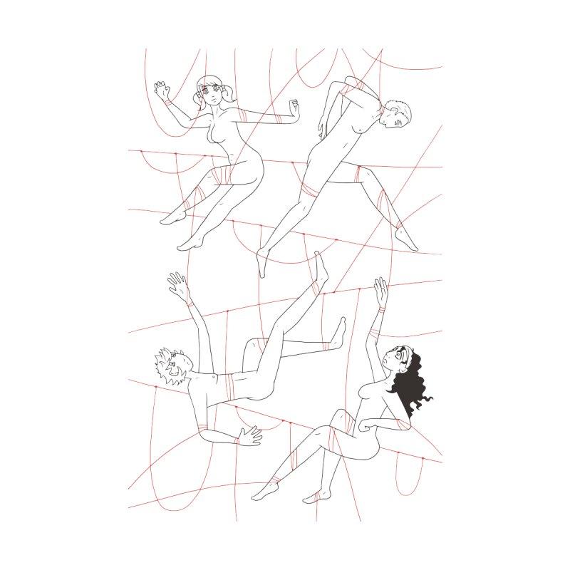 NSFW - Red String - Dark Lines by Rachel Yelding | enchantedviolin