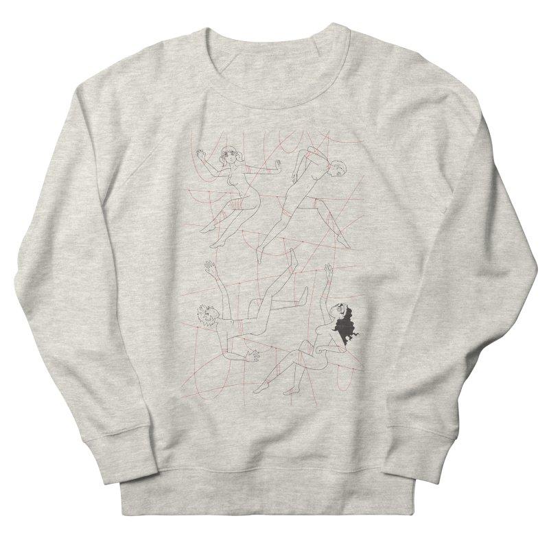 NSFW - Red String - Dark Lines Women's Sweatshirt by Rachel Yelding | enchantedviolin