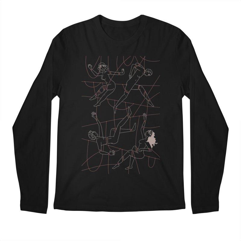 NSFW - Red String - Light Lines Men's Longsleeve T-Shirt by Rachel Yelding | enchantedviolin