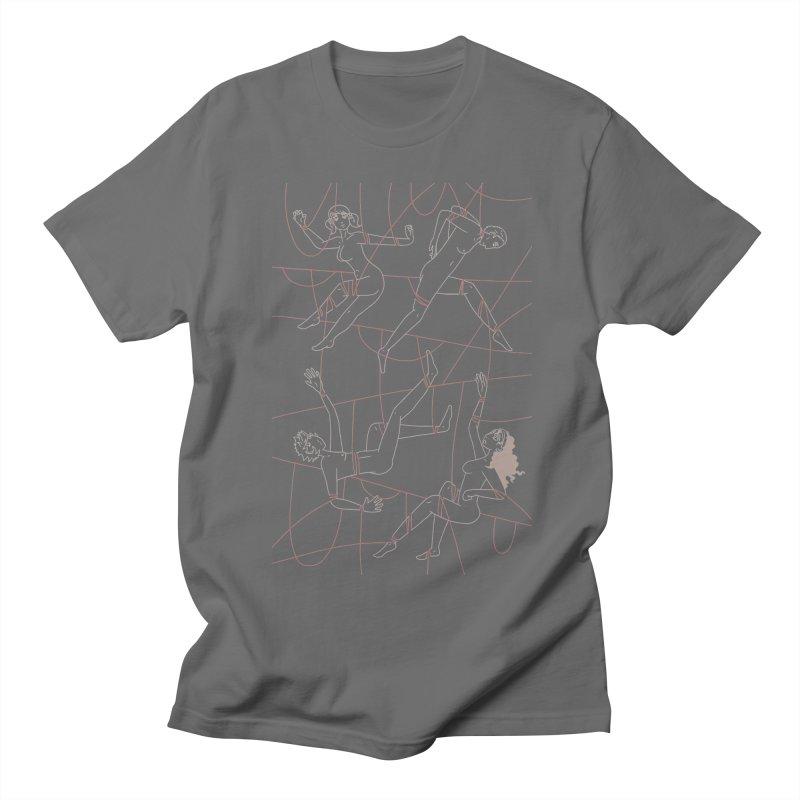 NSFW - Red String - Light Lines Men's T-Shirt by Rachel Yelding | enchantedviolin