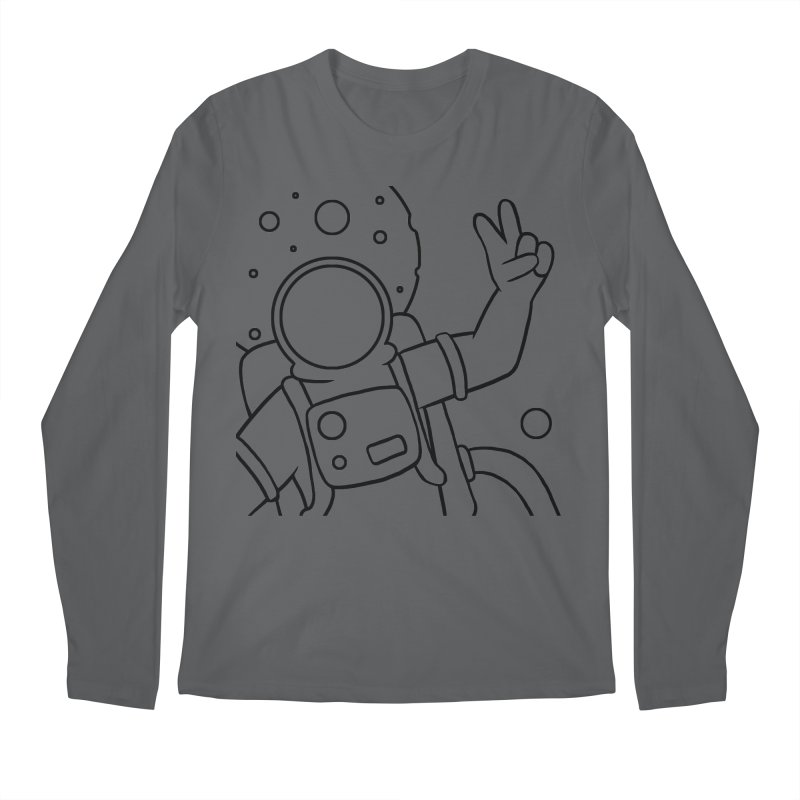 Inter-Cool-Actic - Close-up - Black Men's Regular Longsleeve T-Shirt by Rachel Yelding | enchantedviolin