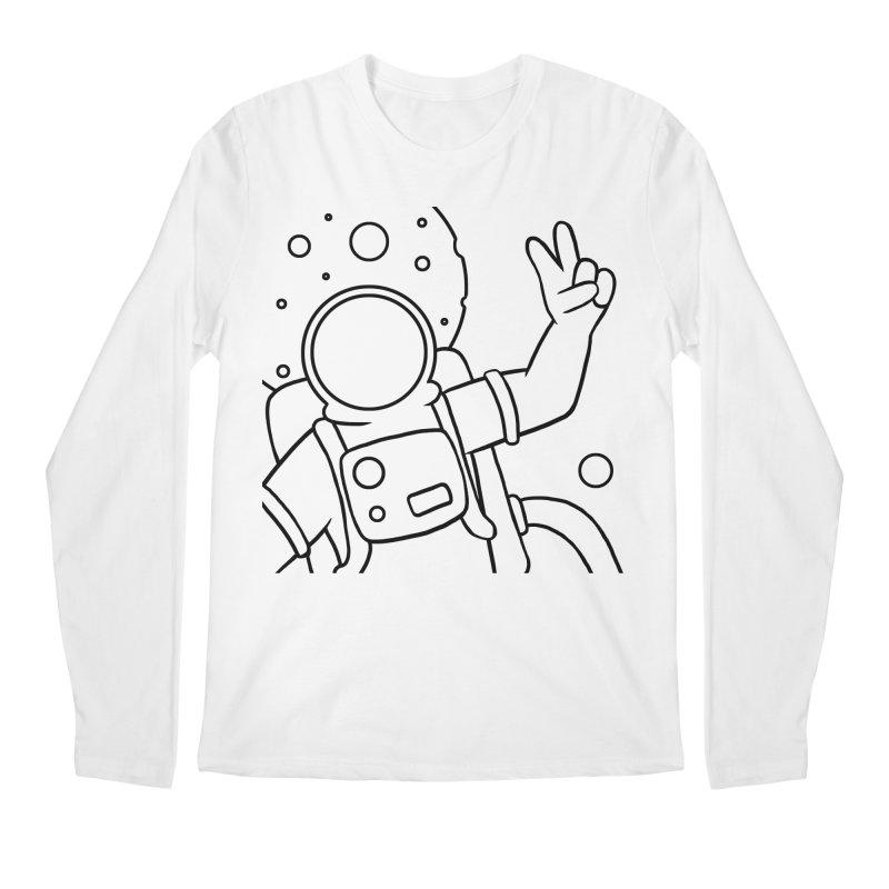 Inter-Cool-Actic - Close-up - Black Men's Longsleeve T-Shirt by Rachel Yelding | enchantedviolin