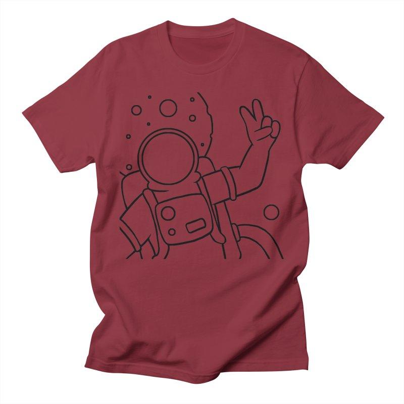 Inter-Cool-Actic - Close-up - Black Men's Regular T-Shirt by Rachel Yelding | enchantedviolin