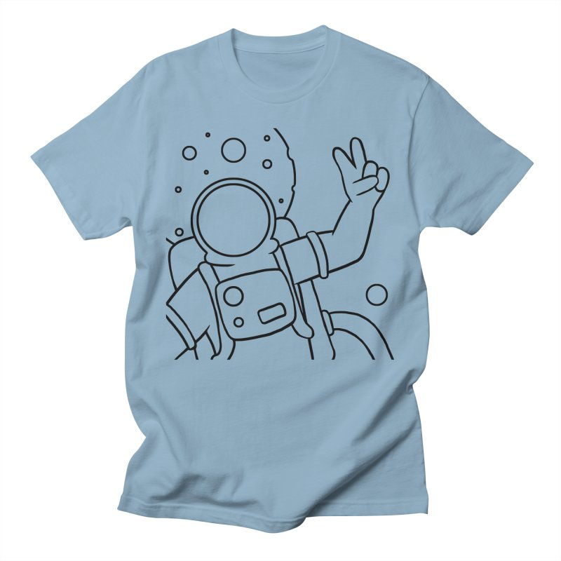 Inter-Cool-Actic - Close-up - Black Men's Regular T-Shirt by Rachel Yelding   enchantedviolin