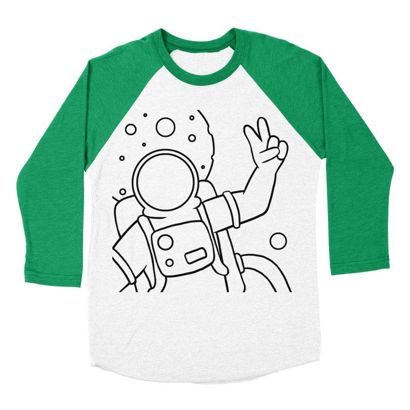 Inter-Cool-Actic - Close-up - Black Men's Baseball Triblend Longsleeve T-Shirt by Rachel Yelding | enchantedviolin