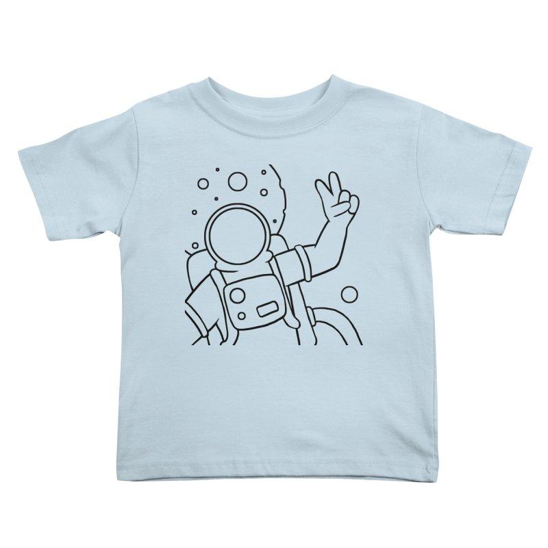 Inter-Cool-Actic - Close-up - Black Kids Toddler T-Shirt by Rachel Yelding | enchantedviolin