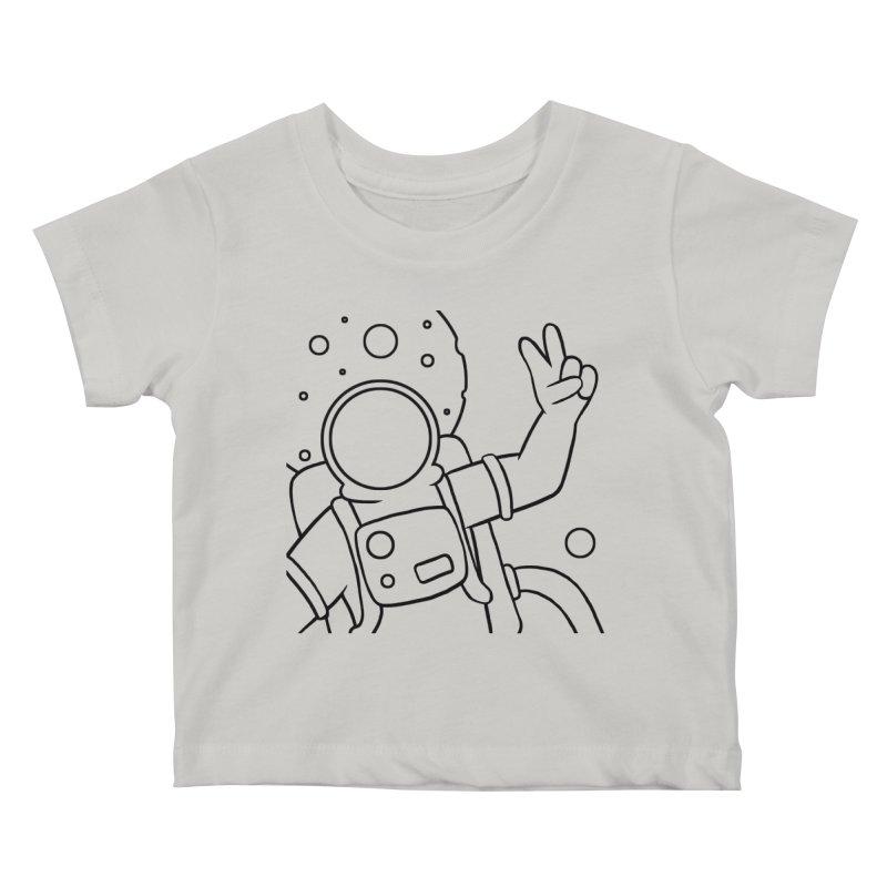 Inter-Cool-Actic - Close-up - Black Kids Baby T-Shirt by Rachel Yelding | enchantedviolin