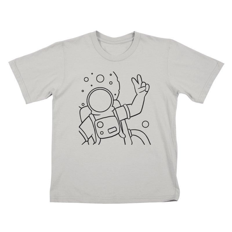 Inter-Cool-Actic - Close-up - Black Kids T-Shirt by Rachel Yelding | enchantedviolin