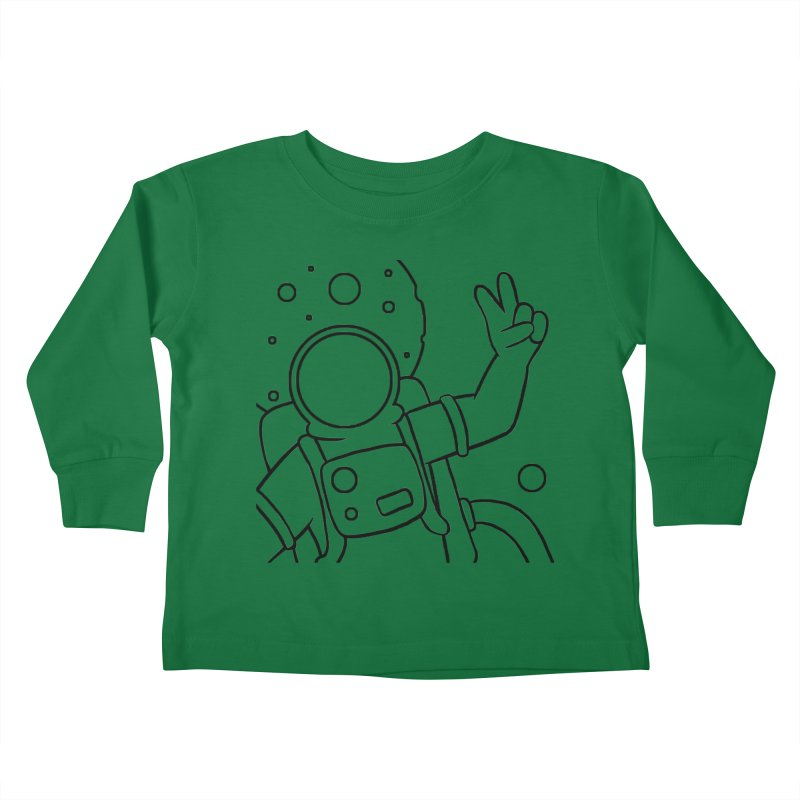 Inter-Cool-Actic - Close-up - Black Kids Toddler Longsleeve T-Shirt by Rachel Yelding | enchantedviolin