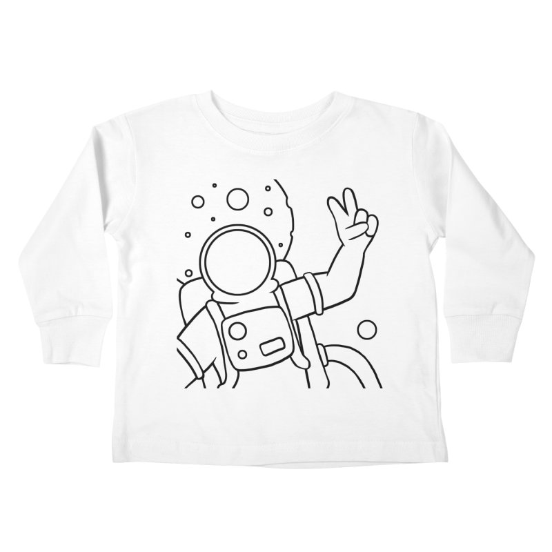 Inter-Cool-Actic - Close-up - Black Kids Toddler Longsleeve T-Shirt by Rachel Yelding | enchantedviolin