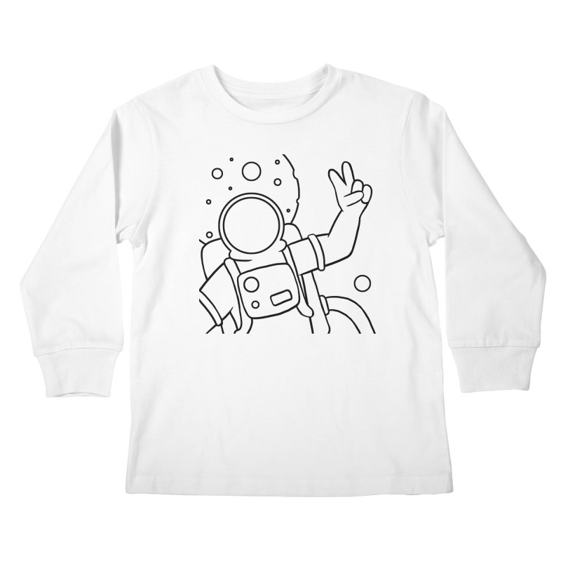 Inter-Cool-Actic - Close-up - Black Kids Longsleeve T-Shirt by Rachel Yelding | enchantedviolin
