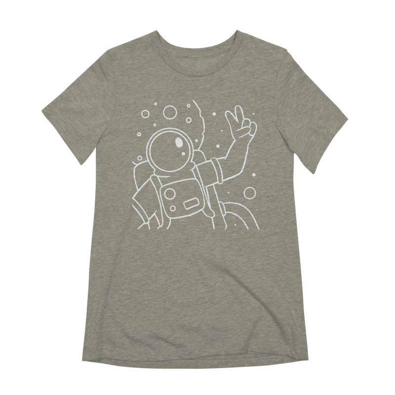 Inter-Cool-Actic - Close-Up - White Women's Extra Soft T-Shirt by Rachel Yelding | enchantedviolin