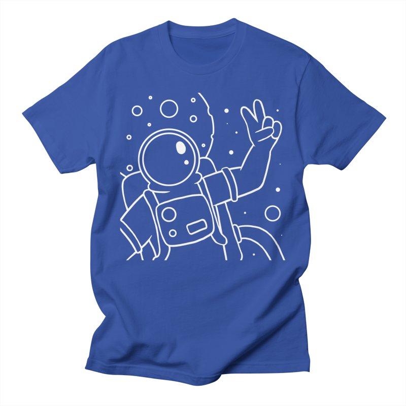 Inter-Cool-Actic - Close-Up - White Men's Regular T-Shirt by Rachel Yelding | enchantedviolin