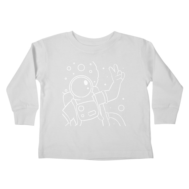 Inter-Cool-Actic - Close-Up - White Kids Toddler Longsleeve T-Shirt by Rachel Yelding   enchantedviolin