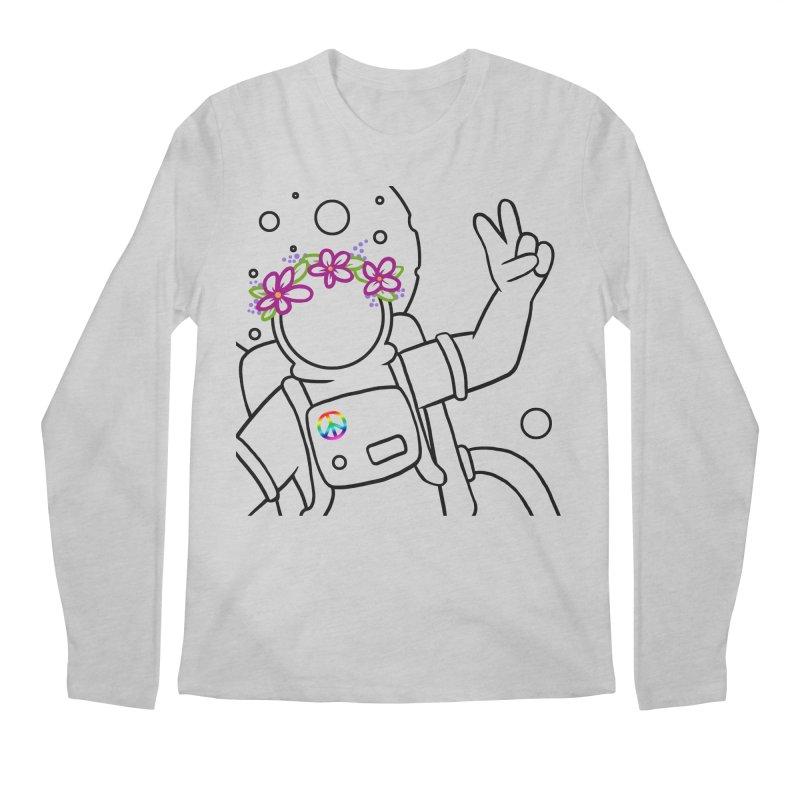 Come in Peace - Black Men's Regular Longsleeve T-Shirt by Rachel Yelding   enchantedviolin