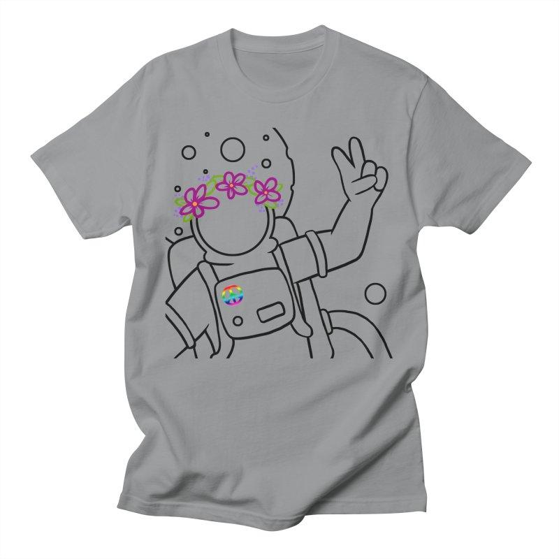 Come in Peace - Black Women's Unisex T-Shirt by Rachel Yelding | enchantedviolin