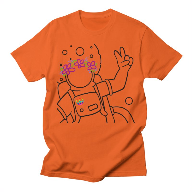 Come in Peace - Black Women's Unisex T-Shirt by Rachel Yelding   enchantedviolin