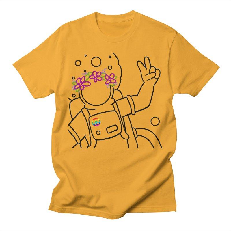 Come in Peace - Black Men's T-Shirt by Rachel Yelding | enchantedviolin