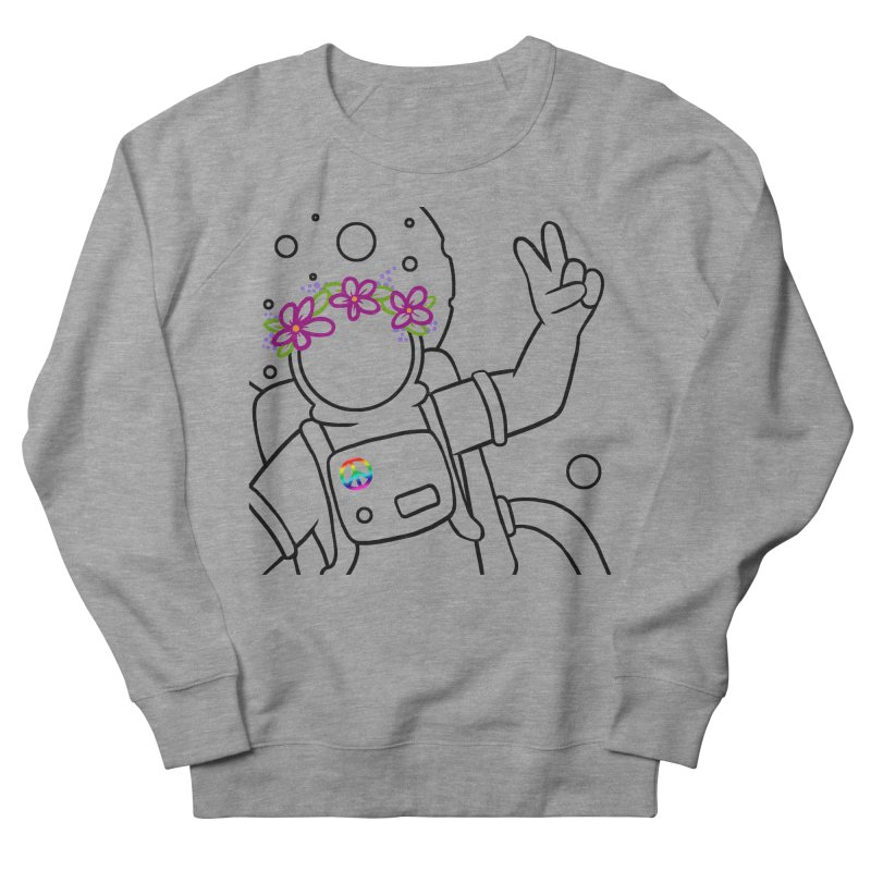 Come in Peace - Black Women's Sweatshirt by Rachel Yelding | enchantedviolin