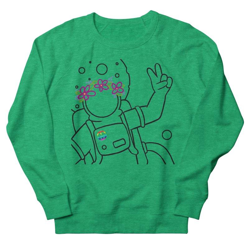 Come in Peace - Black Men's Sweatshirt by Rachel Yelding | enchantedviolin