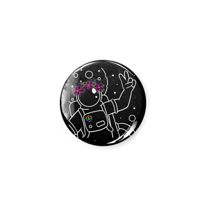 Come in Peace - White Accessories Button by Rachel Yelding | enchantedviolin