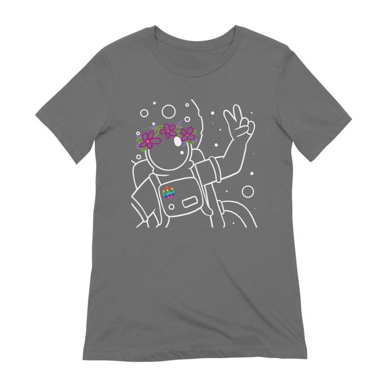 Come in Peace - White Women's T-Shirt by Rachel Yelding | enchantedviolin