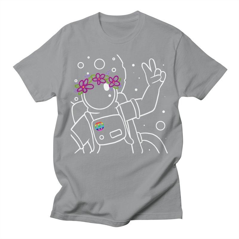Come in Peace - White Men's Regular T-Shirt by Rachel Yelding | enchantedviolin