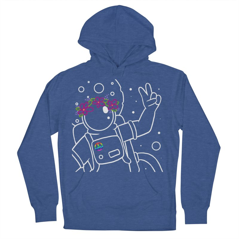 Come in Peace - White Women's Pullover Hoody by Rachel Yelding | enchantedviolin