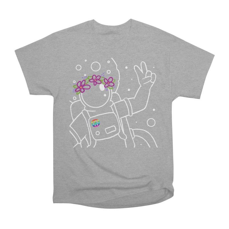 Come in Peace - White Women's Classic Unisex T-Shirt by Rachel Yelding | enchantedviolin